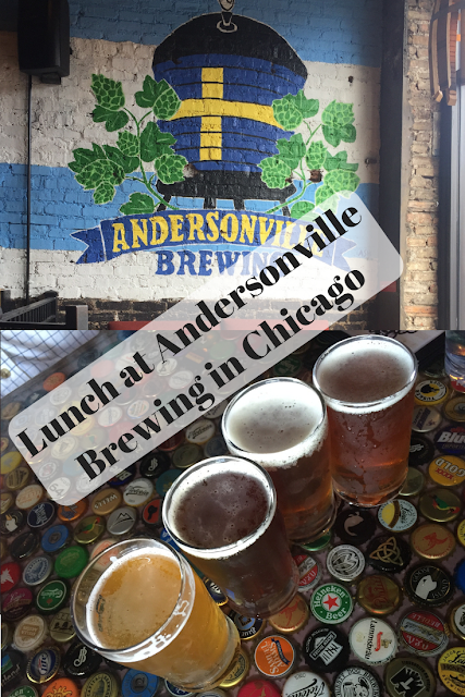 Lunch at Andersonville Brewing in Chicago