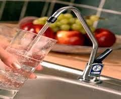شكل صنبور فلتر المياه