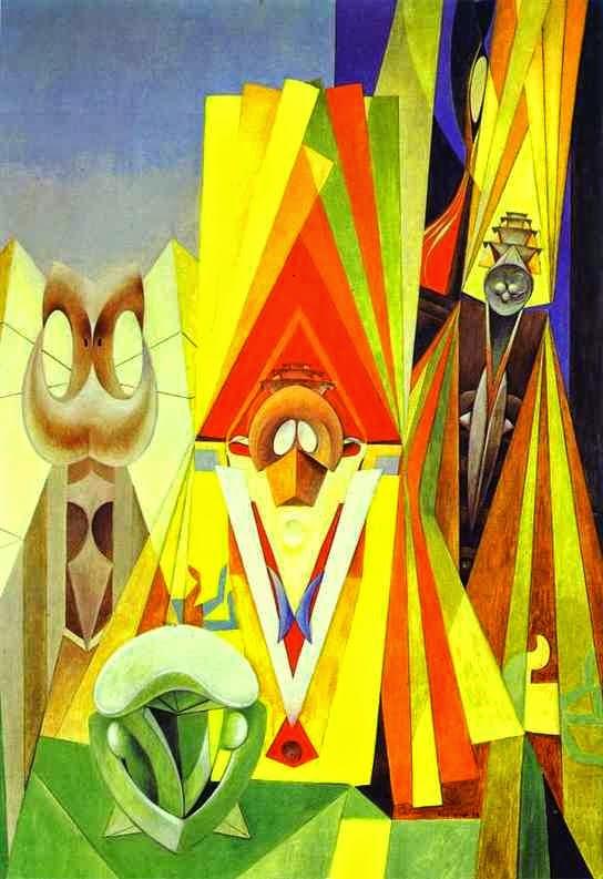 Festa dos Deuses - O Surrealismo de Max Ernst | Alemão
