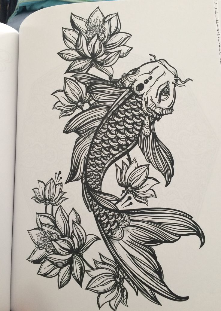 10 mysterious koi fish tattoo designs and meanings awesome tat. Black Bedroom Furniture Sets. Home Design Ideas