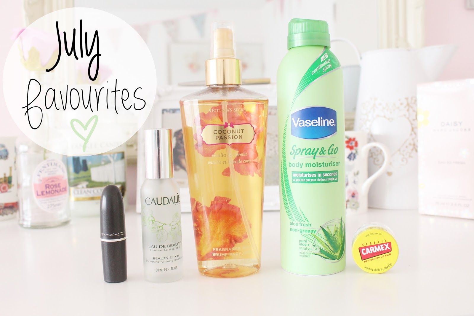 July Favourites Blog