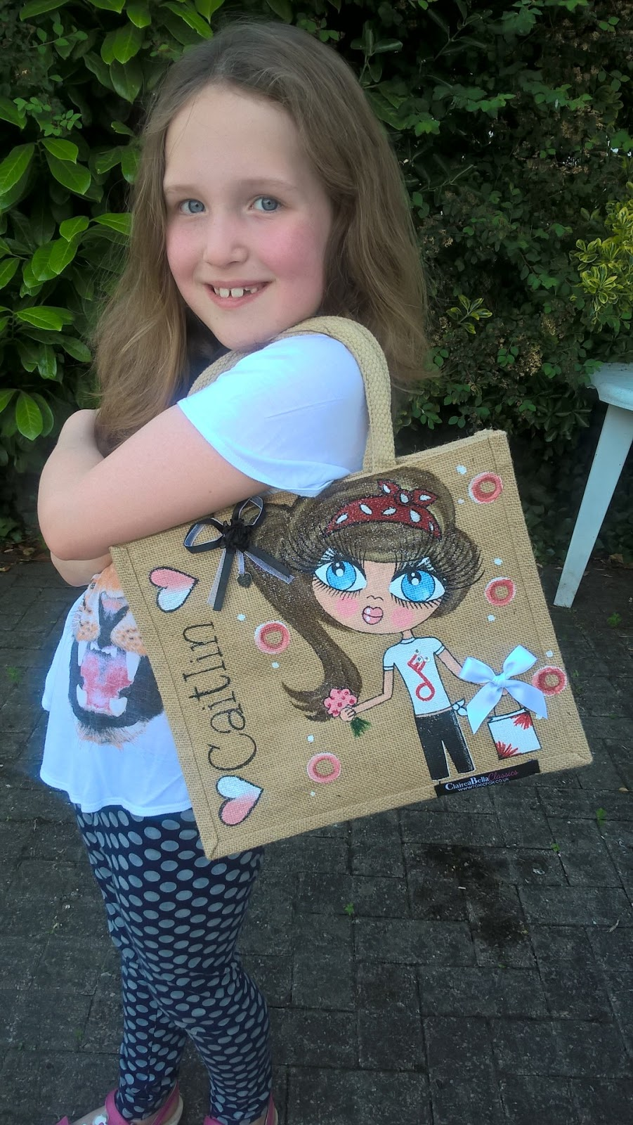 Review: ClaireaBella Medium Jute Bags for Girls