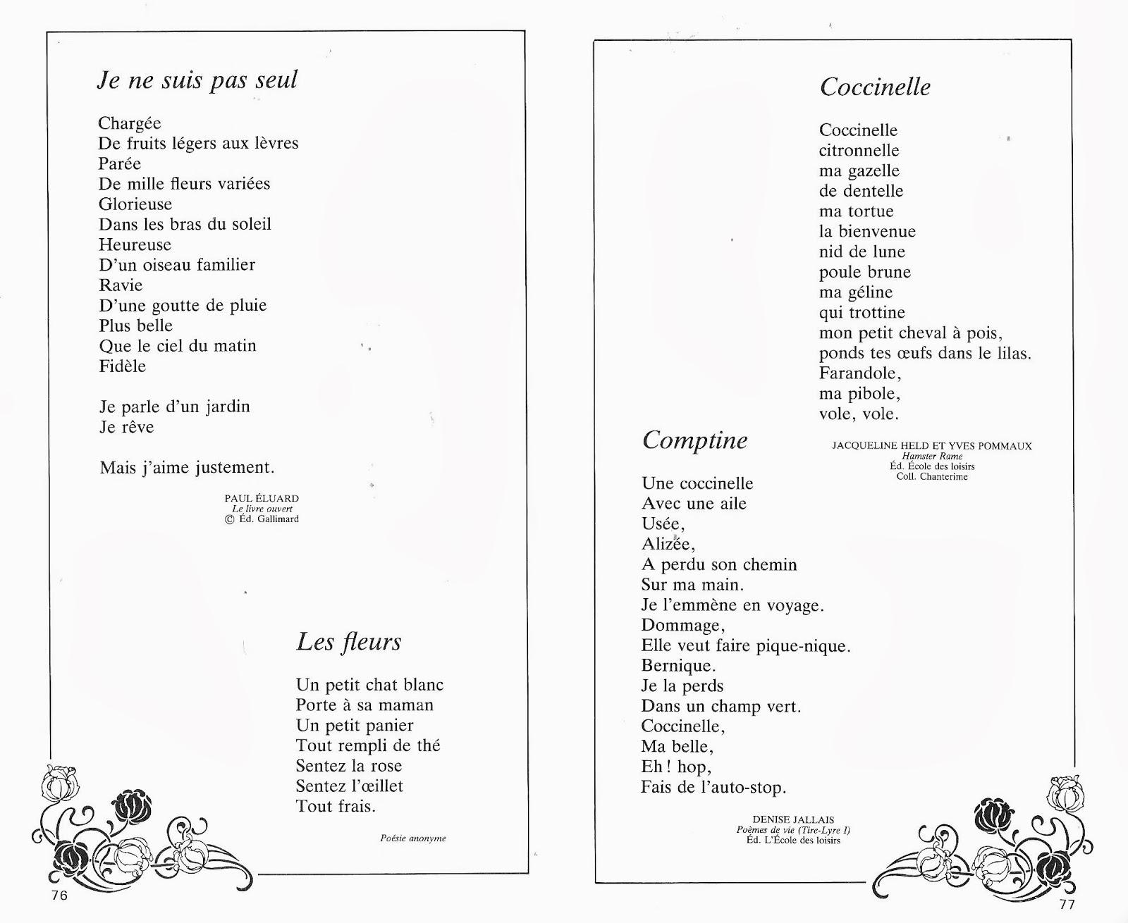 Manuels Anciens Renault Laurent 100 Poèmes Pour Les