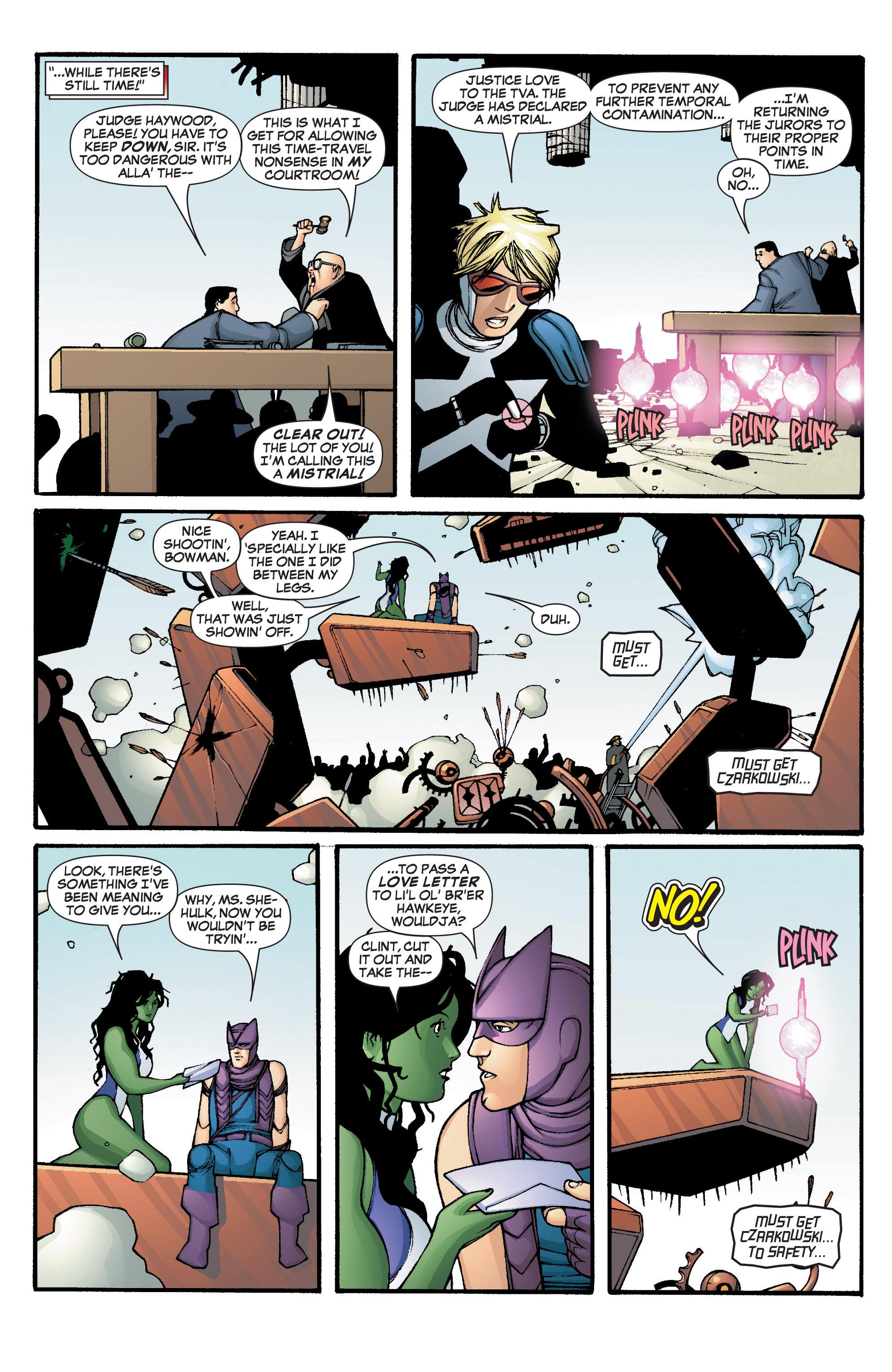 Read online She-Hulk (2005) comic -  Issue #2 - 20