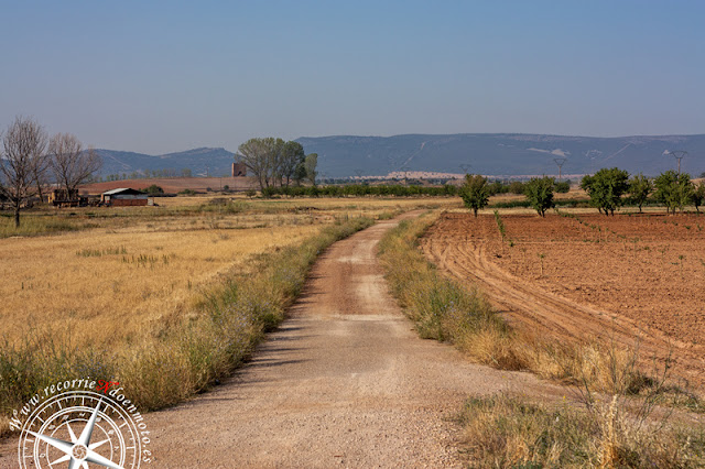 Acceso a La Torrecilla por CM-4025 Km 6