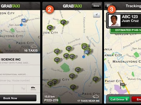 Nothing but Praise for GrabTaxi App