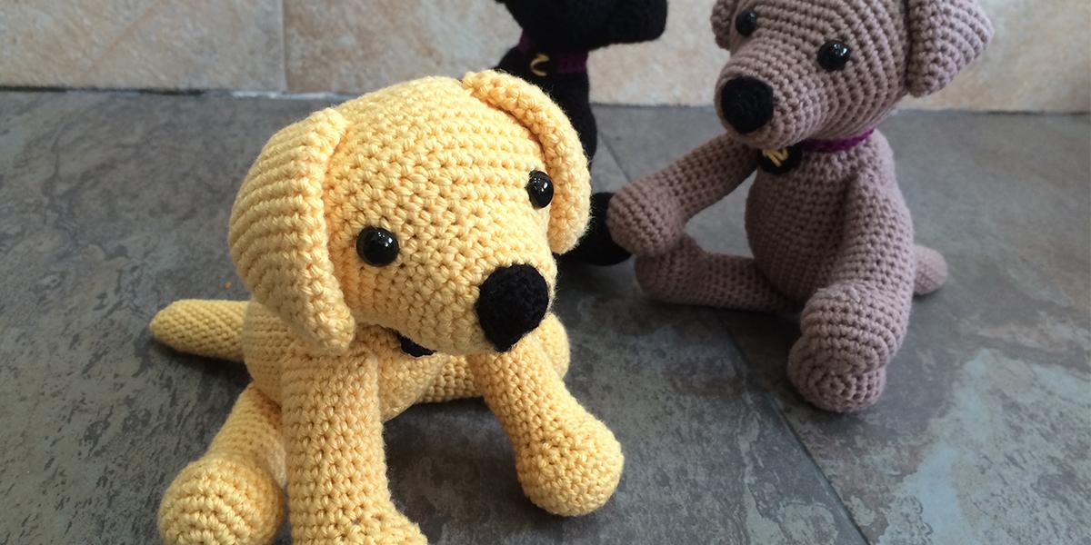 Häkelblog Täglich Neue Anleitungen Labrador Hund Häkelanleitung