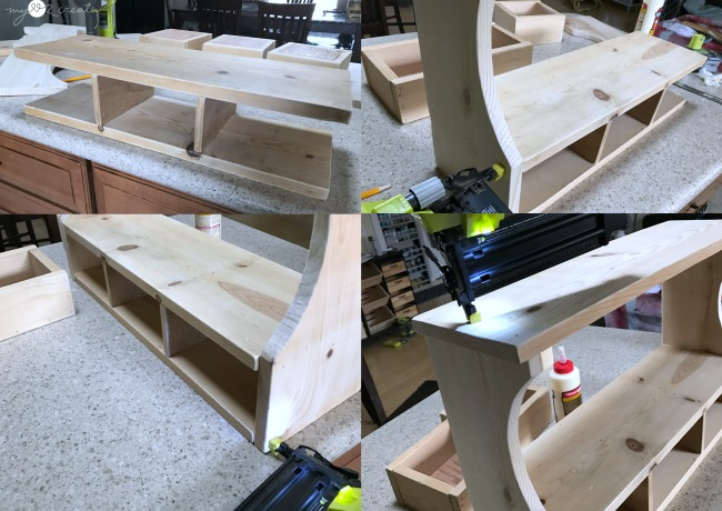 building storage shelf