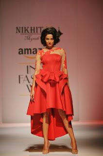 Sonal Chauhan at India Fashion Week