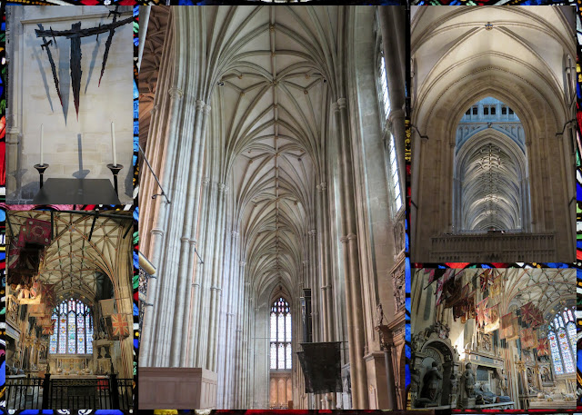 A Weekend in Canterbury England - The Canterbury Cathedral interior