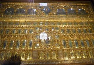 La Pala de Oro en la Basílica de San Marco.