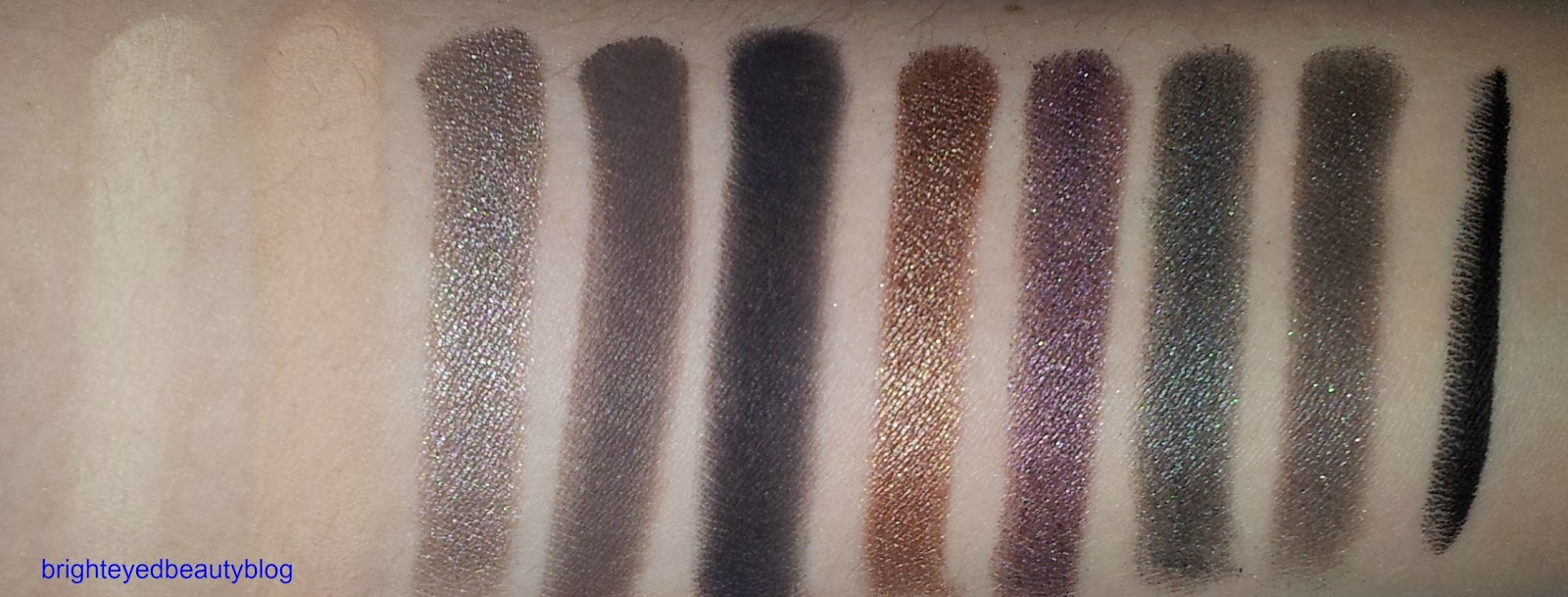 Smoked Eyeshadow Palette by Urban Decay #4