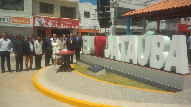 Jataúba News : Inauguração da Praça José Lopes de Siqueira em Jataúba.