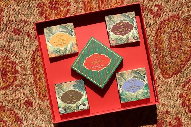Kama Ayurveda Shubh Limited Edition Soap Box