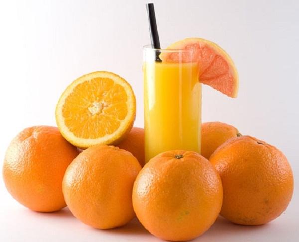 Tác hại của nước cam tươi