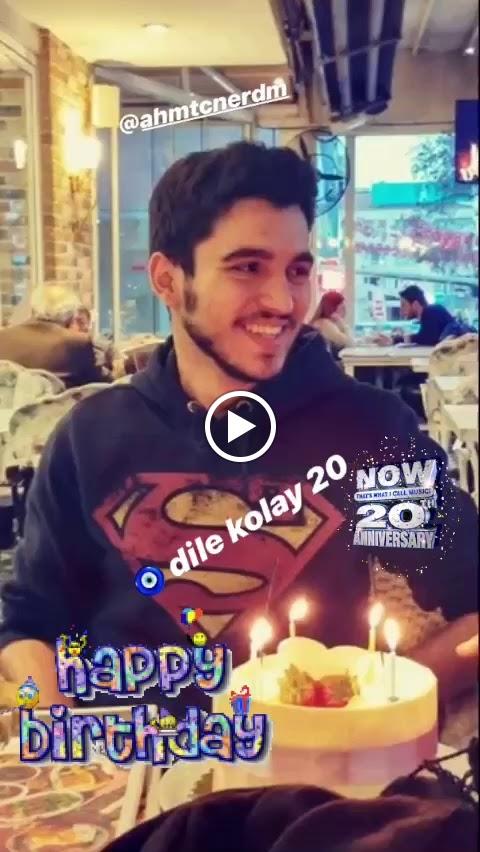 Ahmet Can 20 Oldu !