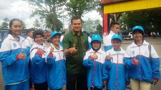 Delapan Pesenam Artistic Gymnastic Payakumbuh Siap Persembahkan Emas