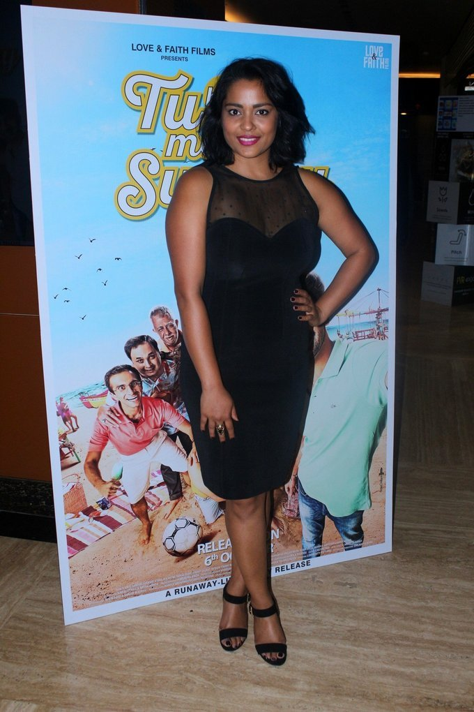 Celebrities at Trailer Launch Of Film Tu Hai Mera Sunday
