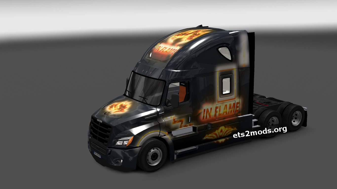 Flame Skin for Cascadia 2018