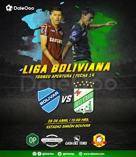 Bolívar vs Oriente Petrolero - DaleOoo