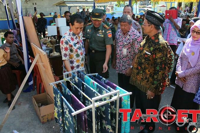 Dandim 0718 Pati Menghadiri Pencanangan Kampung KB di Desa Tanjungsekar Puncakwangi