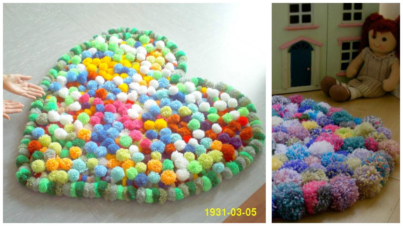 Haz lindas alfombras de lana para tu casa lodijoella - Alfombras hechas a mano con lana ...