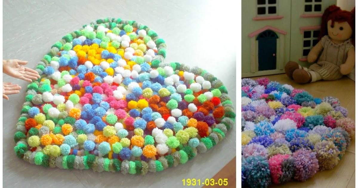 Haz lindas alfombras de lana para tu casa lodijoella - Alfombras de casa ...