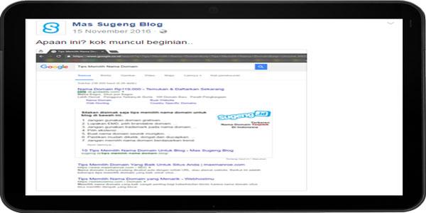 Artikel Page One Google Belum Tentu Bermanfaat Dan Berkualitas
