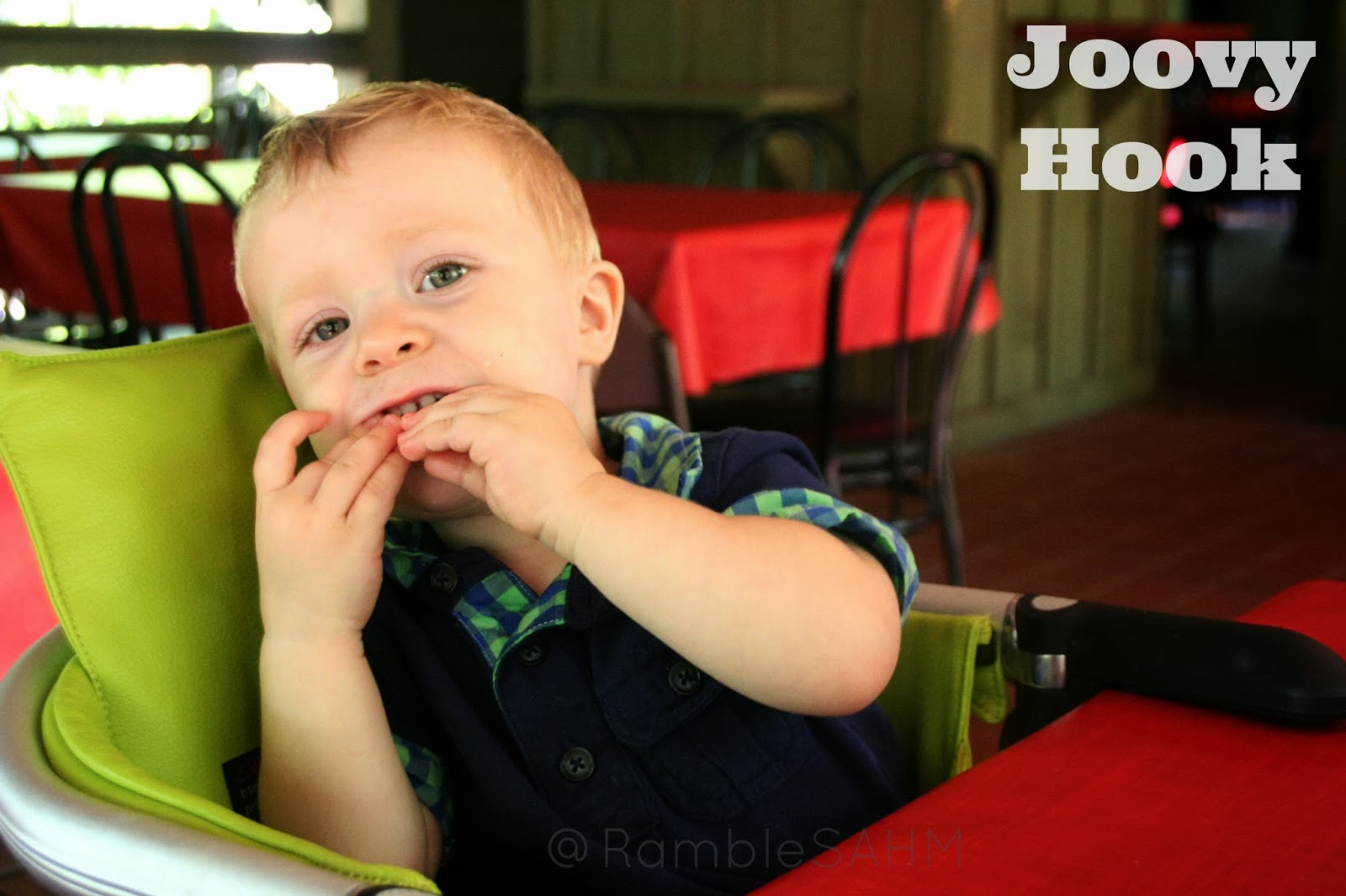 sc 1 st  Rambles of a SAHM & Joovy Hook Review ~ Clean Eating on the Go!