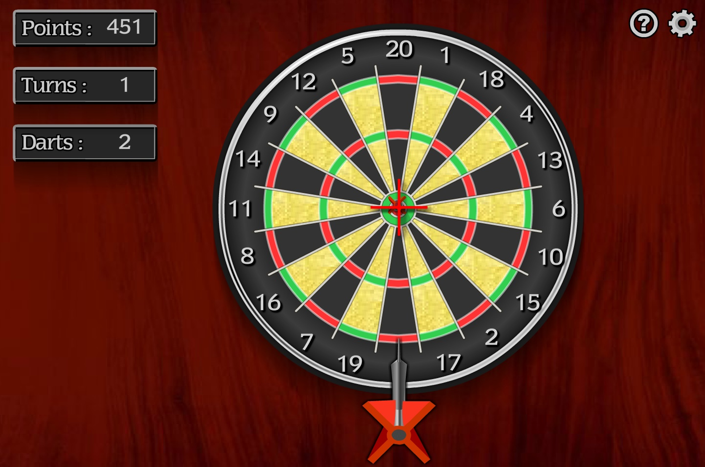 Darts Play Free Online Fun Game