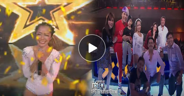 Single Mom From Antipolo Earns The 4th Golden Buzzer On Pilipinas Got Talent Season 6