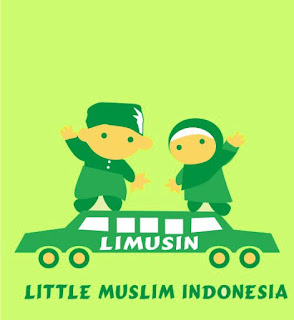 kaos limusin little muslim indonesia