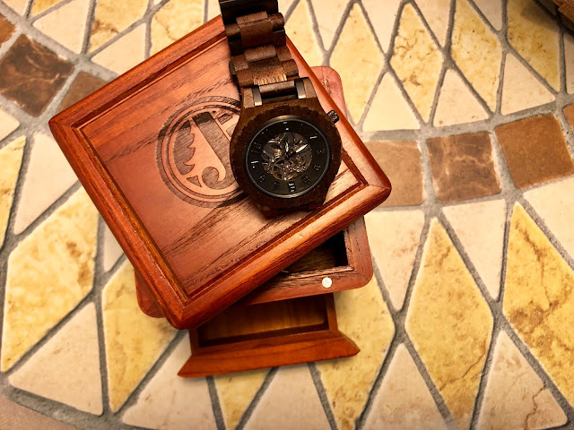 Wood Watch and Humidor Box