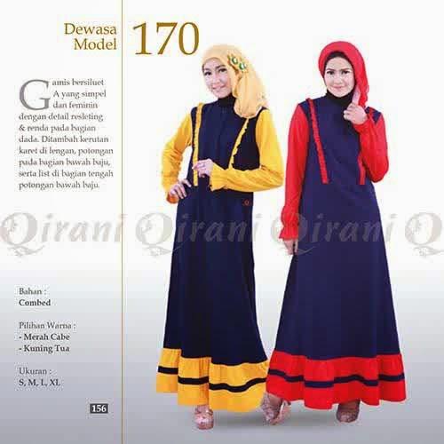 Gamis Atasan Qirani Dewasa 2015 Diskon S D 30 Wafiq