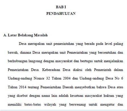 Latar Belakang Penelitian Dalam Skripsi Skripsi Cirebon