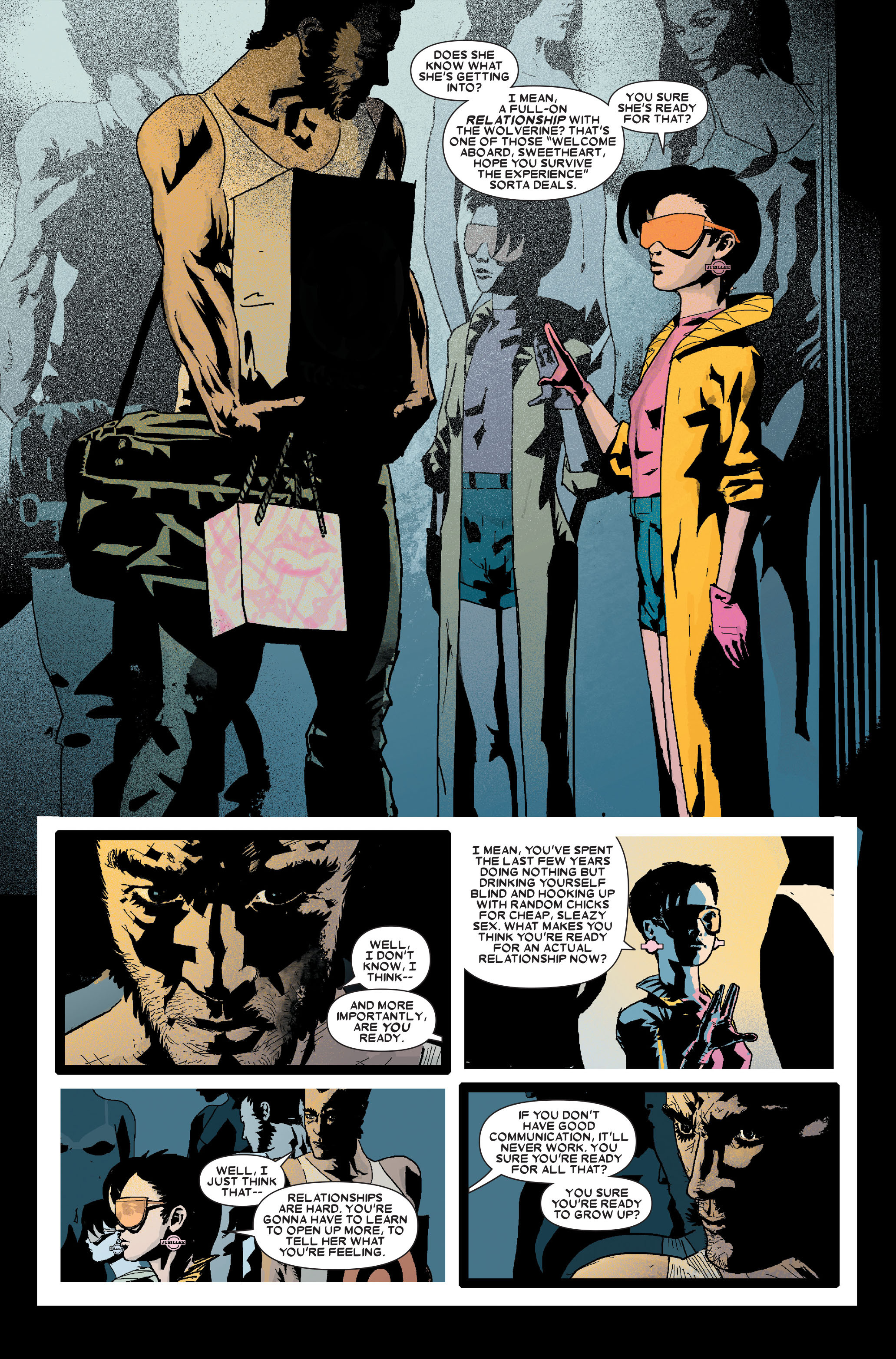 Read online Wolverine: Weapon X comic -  Issue #10 - 11