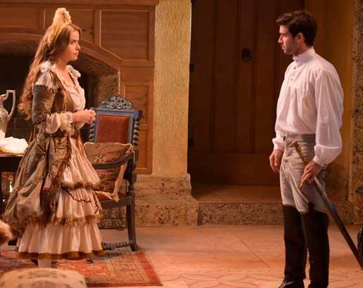 Pietra e Enrico cena de Belaventura