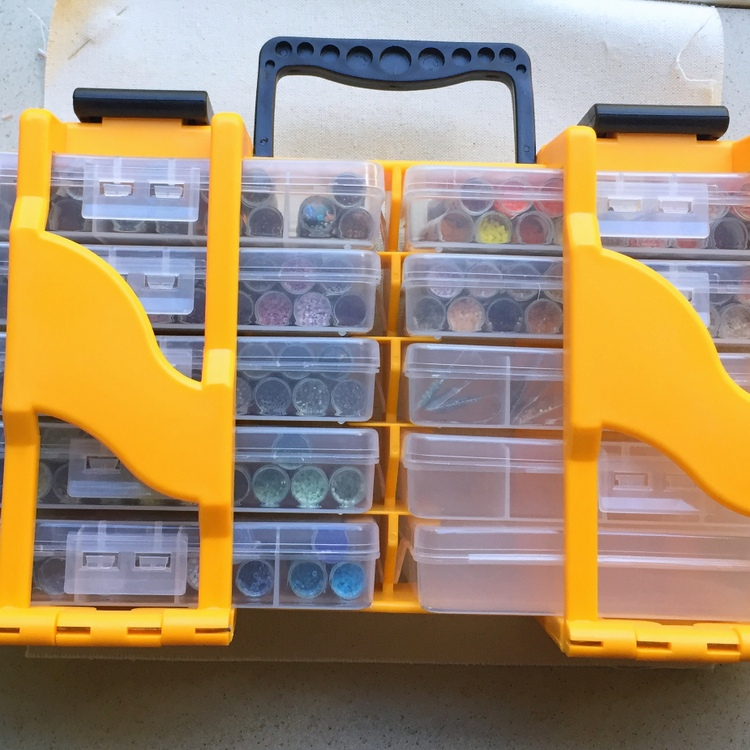 Lisa Yangs Jewelry Blog Bead Storage Containers and Caddy