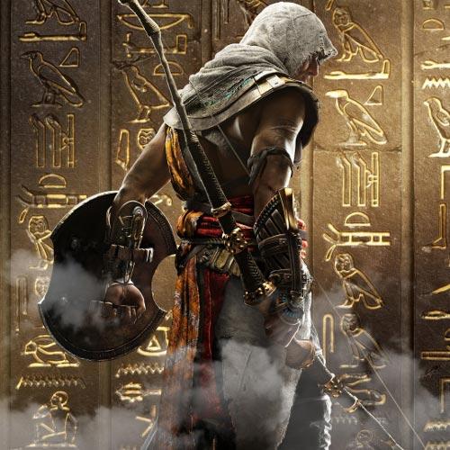 Assassins Creed Origins Hieroglyphs Wallpaper Engine