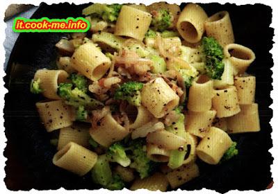 Pasta e broccoli profumata