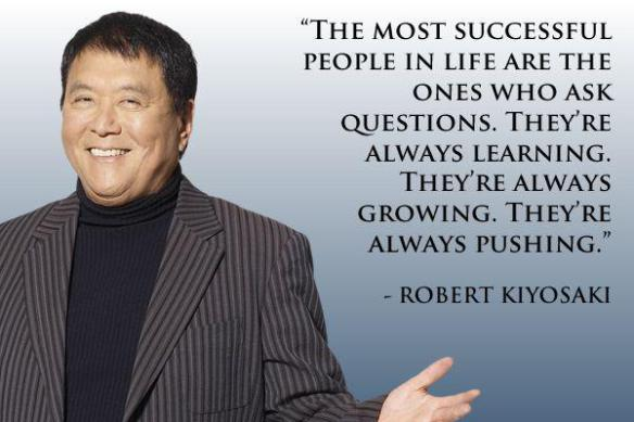 Top Robert Kiyosaki Quotes 10 RULES