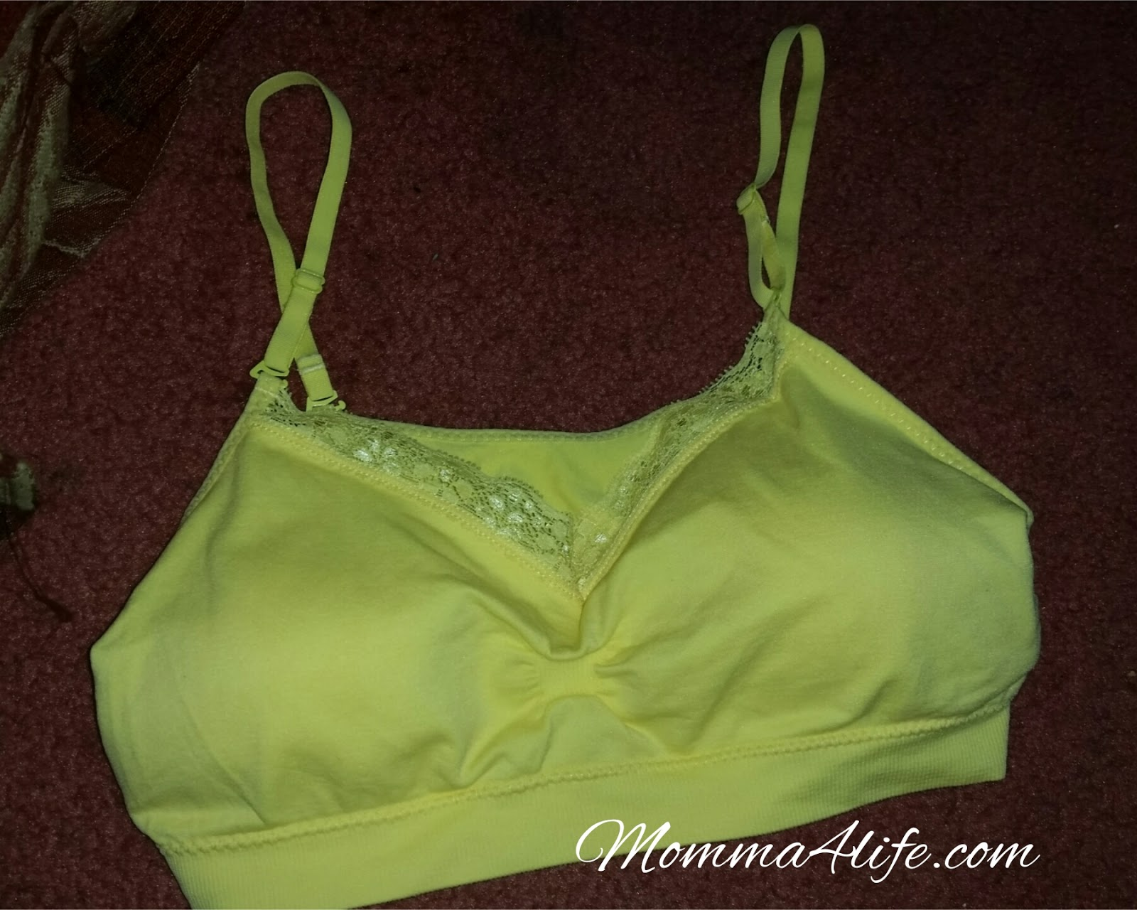 5861fb00925fa These bras are very comfortable and great to wear under your workout  clothes or any clothes for that matter they re just so comfortable. And so  cute.