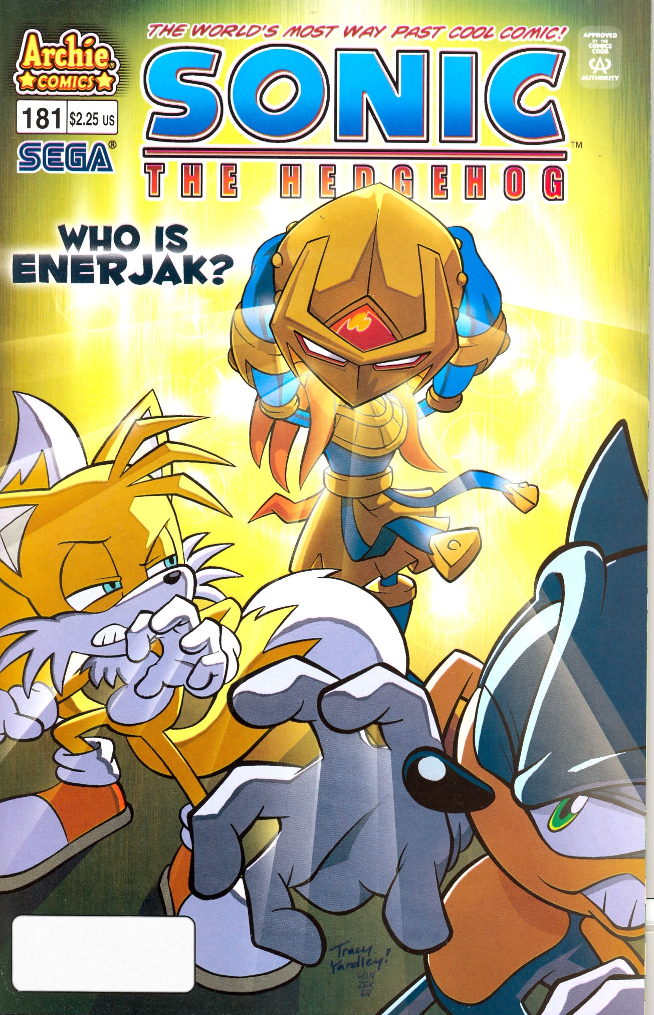 Read online Sonic The Hedgehog comic -  Issue #181 - 1