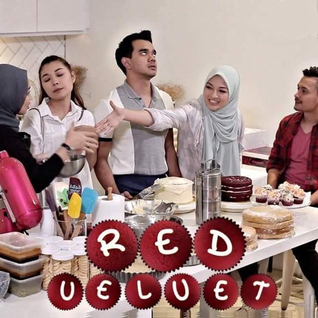 Sinopsis Drama Red Velvet Lakonan Alif Satar dan Neelofa