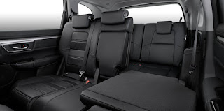 Hàng ghế 3 CRV 7 chỗ 2018