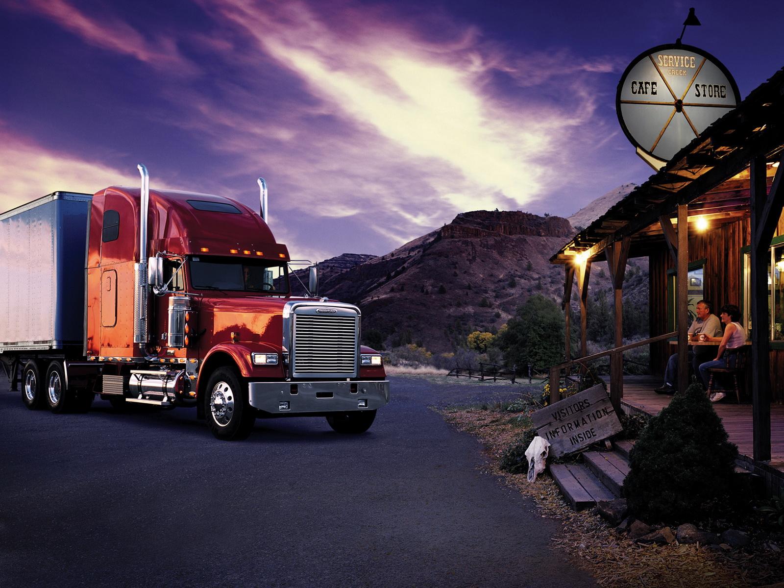Autos Camiones Fondos De Pantalla Gratis: Imagenes Hilandy: Fondo De Pantalla Camion En Parada