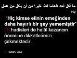 Kuran-ı Kerim'de Helal Lokma ve Dua Hakkında
