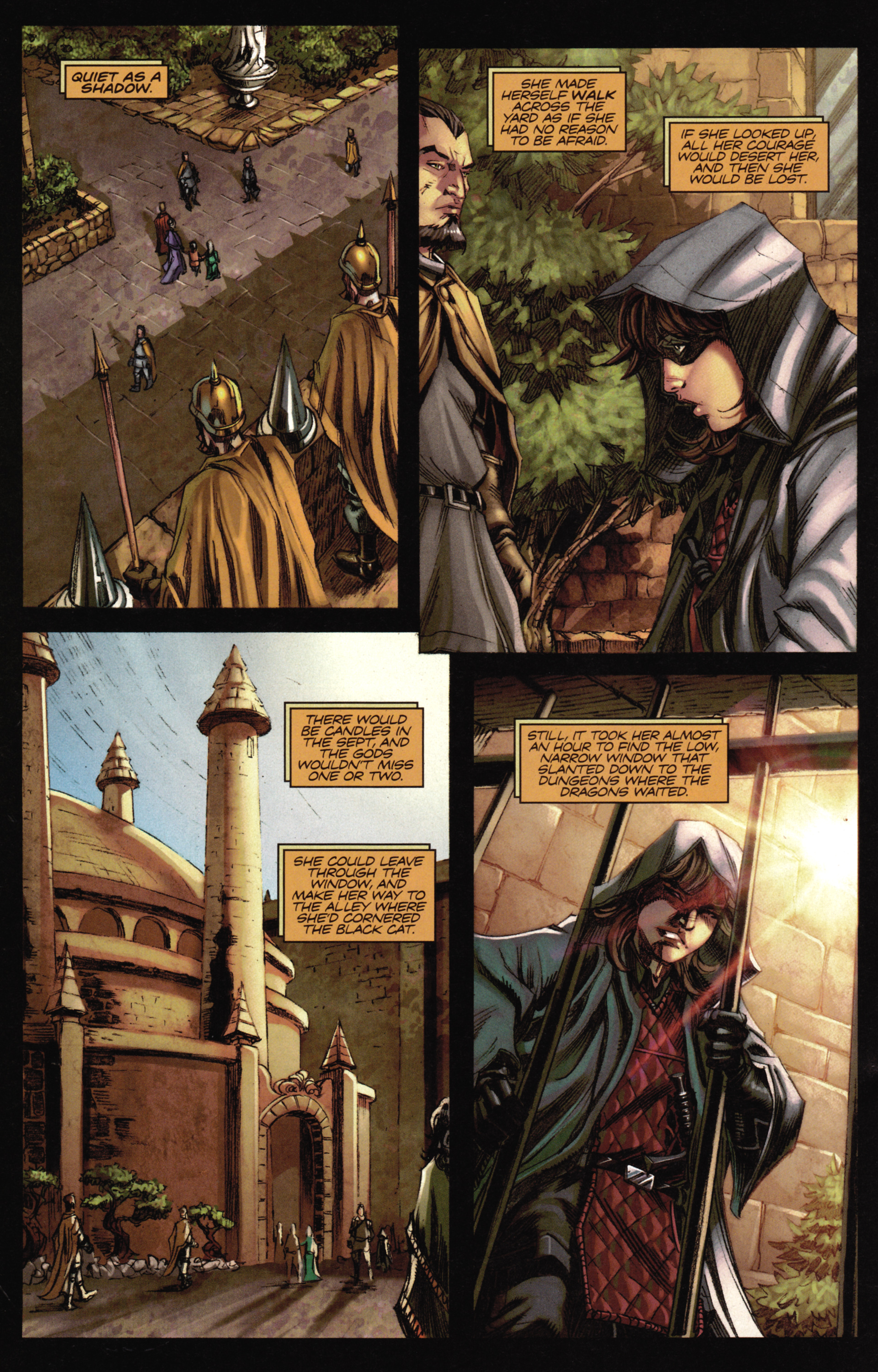 Read online A Game Of Thrones comic -  Issue #16 - 24