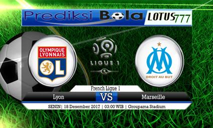 PREDIKSI SKOR Lyon vs Marseille 18 Desember 2017