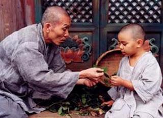 Il maestro Zen e lo scorpione nell'acqua (Buddha)